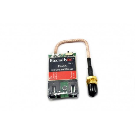 Finch 3.3 GHz Free Style & Racing V2 Transmitter 50-200mW (US)